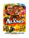 The Alamo  from Left  John Wayne  Richard Widmark  1960