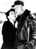 Nightfall  from Left  Anne Bancroft  Aldo Ray  1957