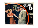 The Secret Six  from Left  Paul Hurst  Marjorie Rambeau  Dewitt Jennings  Wallace Beery  1931
