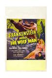 Frankenstein Meets the Wolf Man  Ilona Massey  Maria Ouspenskaya (Bottom)  1943