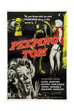 Peeping Tom  1960  UK Poster Art