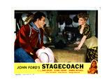 Stagecoach  from Left  John Wayne  Claire Trevor  1939