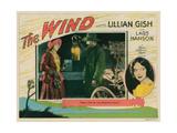 The Wind  Lillian Gish  (Inset Left  and Portrait Right)  Lars Hanson (Lantern)  1928