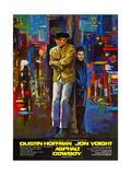 Midnight Cowboy  (AKA Asphalt Cowboy)  from Left: Jon Voight  Dustin Hoffman  1969