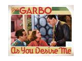 As You Desire Me  from Left  Melvyn Douglas  Greta Garbo  Owen Moore  1932