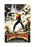 Flash Gordon  Argentinan Poster  Sam J Jones  1980