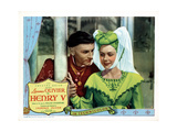 Henry V  from Left  Laurence Olivier  Renee Asherson  1944