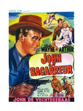 A Lady Takes a Chance  (AKA the Cowboy and the Girl  Aka John Le Bagarreur)  1943