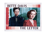 The Letter  from Left  Gale Sondergaard  Bette Davis  1940