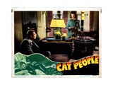 Cat People  from Left  Kent Smith  Simone Simon  1942