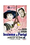 Paris When it Sizzles (AKA Insieme a Parigi)  Italian Poster Art  1964