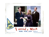 I Married a Witch  from Left  Fredric March  Veronica Lake  Robert Benchley  1942