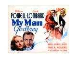 My Man Godfrey  from Left  Carole Lombard  William Powell  1936