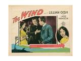 The Wind  from Left: Lillian Gish  Montagu Love  Lars Hanson  Portrait Right: Lillian Gish  1928