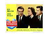 The Lost Weekend  from Left  Ray Milland  Jane Wyman  Phillip Terry  1945