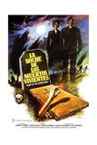 Night of the Living Dead  (AKA La Noche De Los Muertos Vivientes)  Spanish Poster Art  1968