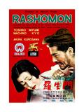 Rashomon  from Left: Machiko Kyo  Toshiro Mifune  1950