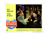 The Lost Weekend  from Left  Howard Da Silva  Ray Milland  1945