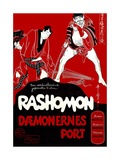 Rashomon  (Danish Poster Art)  1950