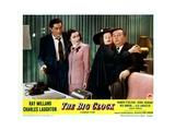 The Big Clock  from Left  Ray Milland  Maureen O'Sullivan  Elsa Lanchester  1948