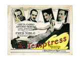 The Temptress  Greta Garbo  Antonio Moreno  Lionel Barrymore  Roy D'Arcy  HB Warner  1926