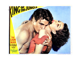 King of the Jungle  from Left  Buster Crabbe  Frances Dee  1933