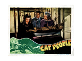 Cat People  from Left  Simone Simon  Kent Smith  Jane Randolph  1942