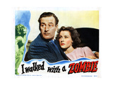 I Walked with a Zombie  from Left  Tom Conway  Frances Dee  1943