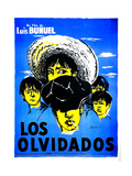 Los Olvidados  (AKA the Young and the Damned)  (French Poster Art)  1950