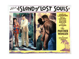 Island of Lost Souls  from Left  Kathleen Burke  Richard Arlen  1932