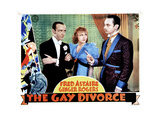 The Gay Divorcee  from Left  Fred Astaire  Ginger Rogers  Erik Rhodes  1934