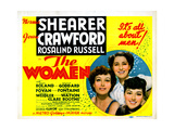 The Women  from Left  Joan Crawford  Norma Shearer  Rosalind Russell  1939