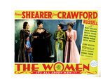 The Women  from Left  Joan Crawford  Rosalind Russell  Norma Shearer  Joan Fontaine  1939