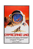 Capricorn One  (AKA Capricornio Uno)  Spanish Language Poster Art  James Brolin  1978