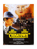 Chinatown  French Poster Art  Fom Left: Jack Nicholson  Faye Dunaway  1974
