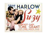 Suzy  from Left: Cary Grant  Franchot Tone  Jean Harlow (And Bottom)  1936