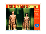 This Island Earth  from Left: Rex Reason  Faith Domergue  1955