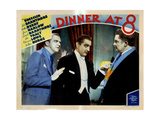 Dinner at Eight  (AKA Dinner at 8)  Lee Tracy  John Barrymore  Jean Hersholt  1933