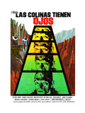 The Hills Have Eyes  (AKA Las Colinas Tienen Ojos)  Spanish Poster  Michael Berryman  1977