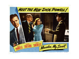 Murder  My Sweet  Dick Powell  Miles Mander  Anne Shirley  1944