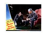 Sherlock Holmes Faces Death  from Left  Basil Rathbone  Nigel Bruce  1943