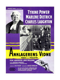 Witness for the Prosecution  (AKA Anklagerens Vidne)  1957