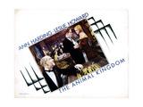 The Animal Kingdom  from Left  Henry Stephenson  Leslie Howard  Ann Harding  1932