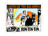 A Hero of the Big Snows  from Left  Alice Calhoun  Mary Jane Milliken  Rin Tin Tin  1926