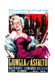 The Asphalt Jungle  (AKA Giungla D'Asfalto)  Italian Poster  Marilyn Monroe  1950