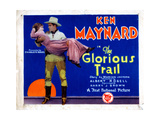 The Glorious Trail  Ken Maynard  Holding Gladys Mcconnell  1928