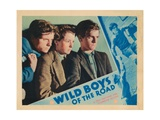 Wild Boys of the Road  from Left  Edwin Phillips  Dorothy Coonan Wellman  Frankie Darro  1933