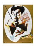 Artists and Models  (aka Artistes Et Modeles)  Jerry Lewis on French Poster Art  1955