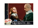 Queen Christina  from Left  Greta Garbo  Lewis Stone  1933