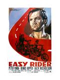 Easy Rider  Italian Poster Art  from Top: Jack Nicholson  Peter Fonda  Dennis Hopper  1969